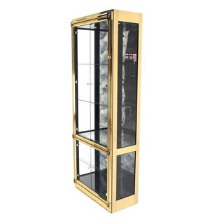 Mastercraft Empire Revival Brass Cabinet