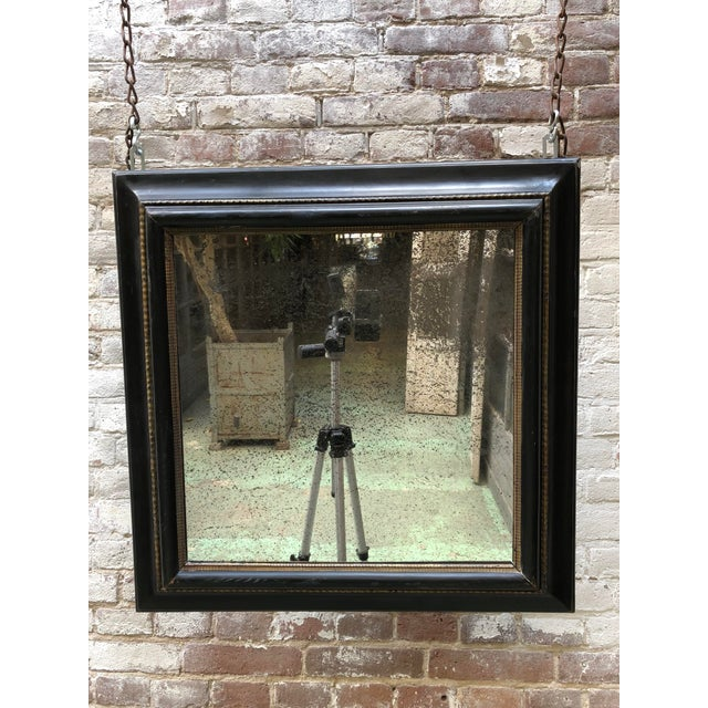 This rare 17th Century mirror belonged originally to a French Calvinist Family, in which they hide their Bible in the...