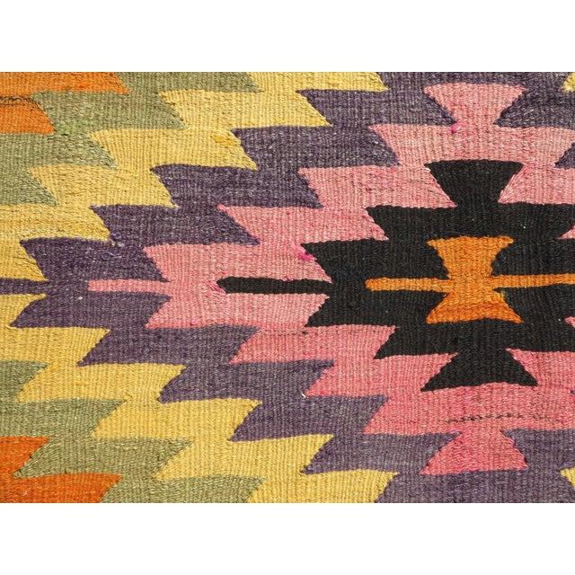 Anatolian Turkish Classic Kilim Rug For Sale - Image 10 of 13