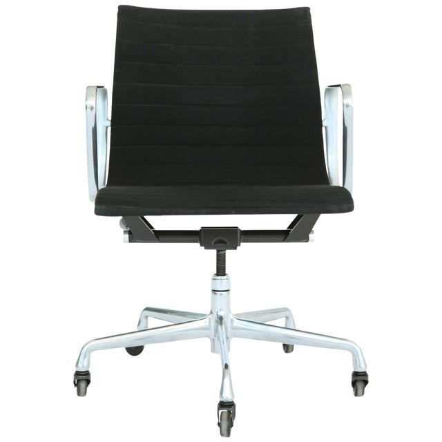 Eames Aluminum Group Desk and Conference Chair For Sale
