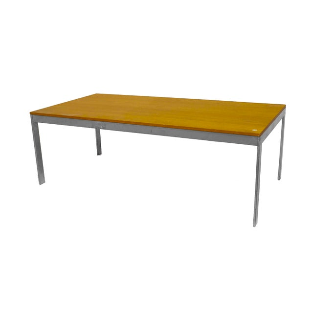 American American Postwar Design 1950s Low Coffee Table For Sale - Image 3 of 3