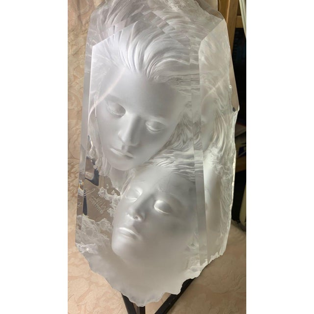 1990s Michael Wilkinson Dream Cast Acrylic Fragment For Sale - Image 5 of 11