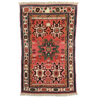 RugsinDallas Hand Knotted Wool Chinese Rug - 4′11″ × 8′1″ For Sale