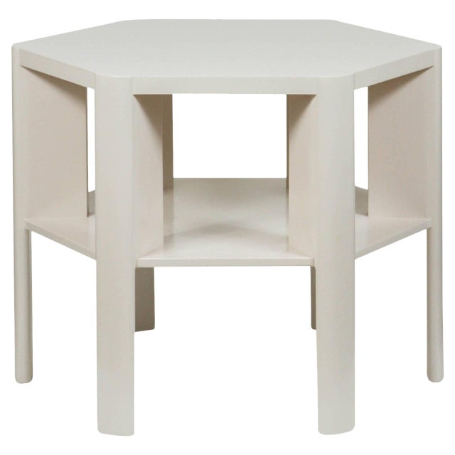 Minimalist Modern Lacquered Library Table by Martin and Brockett For Sale