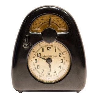 Isamu Noguchi Measured Time Clock and Kitchen Timer