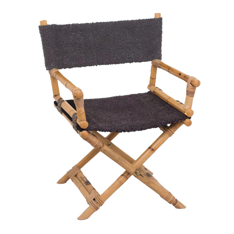 Vintage Folding Directoru0027s Chair For Sale