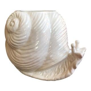 Ceramic Snail Planter For Sale