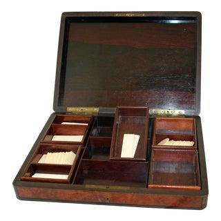 Vintage Napoleon III Games Box For Sale