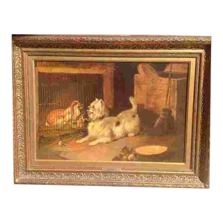 19th Cent. British Oil Painting For Sale