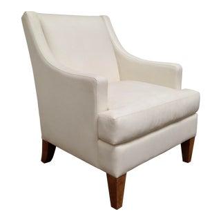 RJones Leather Destin Lounge Chair For Sale
