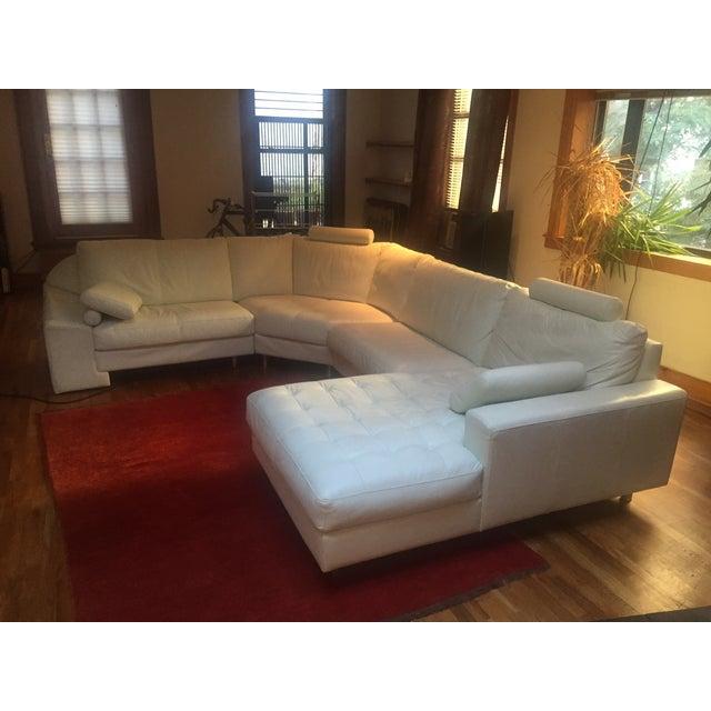 Denelli Italia White Modular Sofa - Image 2 of 6