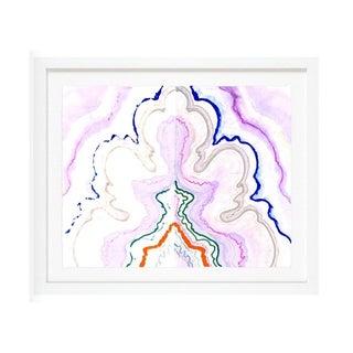 "Kristi Kohut ""Violet Agate"" Fine Art Print For Sale"