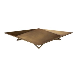 Waypoint Centerpiece in Antique Brass by Force/Collide For Sale