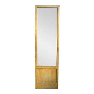 Antique Reclaimed Metal Door With Faux Oak Finish