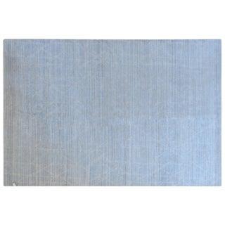Stark Studio Rugs Contemporary New Oriental Tibetan 50% Wool/50% Bamboo Silk Rug - 6′1″ × 9′1″ For Sale