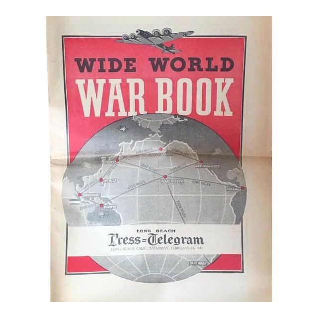 Vintage World War II Political Newspaper Art Print - Image 1 of 6