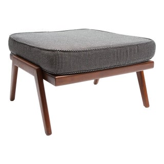 Rail Back Collection Ottoman by Smilow Furniture For Sale