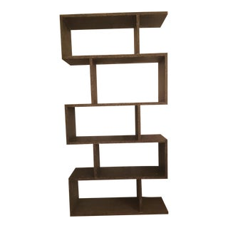 Arteriors Carmine Gray Limed Oak Bookshelf