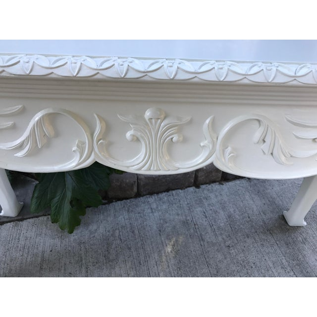 Vintage French Console Table For Sale - Image 5 of 6