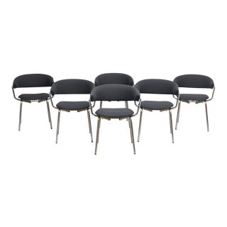 Pierre Guariche Set of Six Dining Chairs