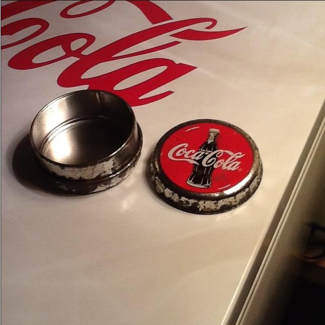 Vintage Coca Cola Cap Tin - Image 10 of 10