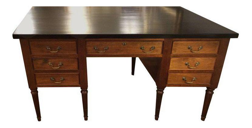 Vintage Amp Used Partner Desks Chairish