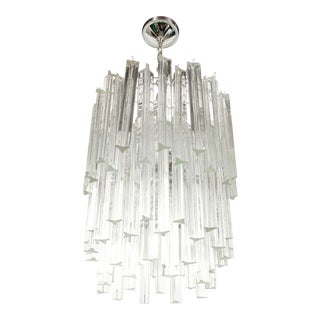 Camer Three-Tier Cascading Crystal Chandelier For Sale