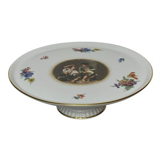 1940s German Bareuther Waldsassen Cake Stand For Sale