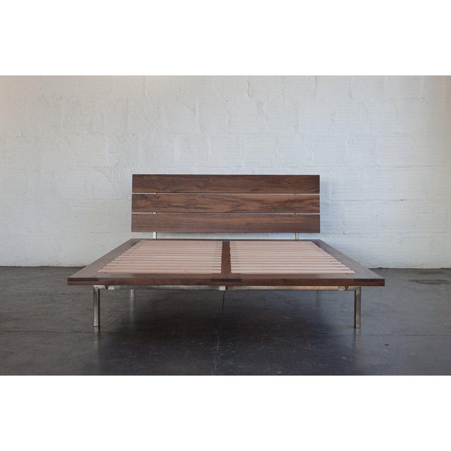Mid-Century Modern TGM Queen Size Studio Bed For Sale - Image 4 of 9