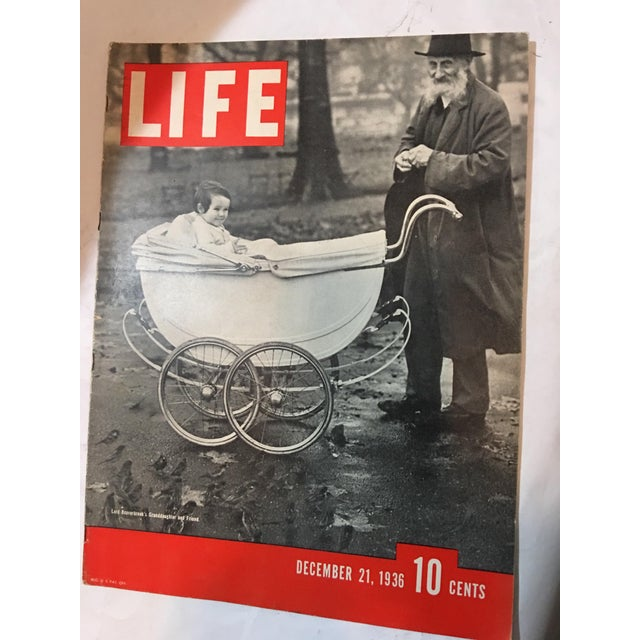 1936 Life Magazine First Historical Issues - Set of 6 - Image 7 of 11