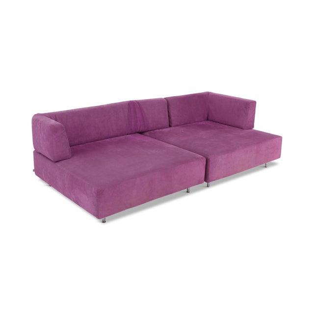 Edra l'Homme Et La Femme Modular Sofa by Francesco Binfaré For Sale - Image 11 of 11