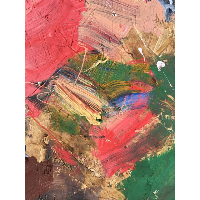 2020s 'Sky Rockets' Abstract Oil Painting by Sean Kratzert For Sale - Image 5 of 6