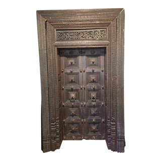 17th C. Indian Double Door
