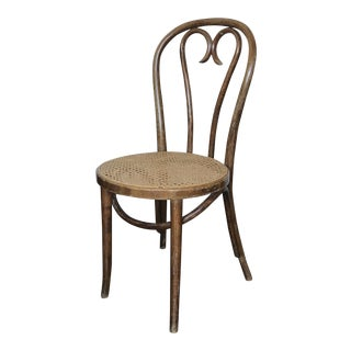 1980s Vintage Thonet Style Bentwood Cafe Chair For Sale