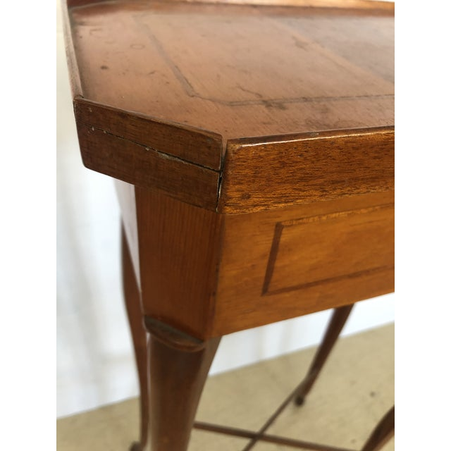 19th Century Biedermeier Side Table or Stand For Sale - Image 10 of 12