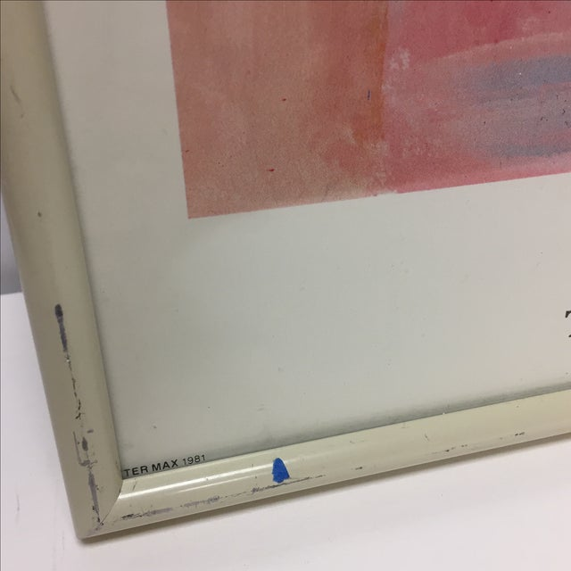 """Peter Max Signed """"Statue of Liberty"""" Print For Sale In Raleigh - Image 6 of 9"""