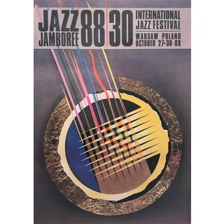 Original 1988 Polish Jazz Poster, Jazz Jamboree For Sale