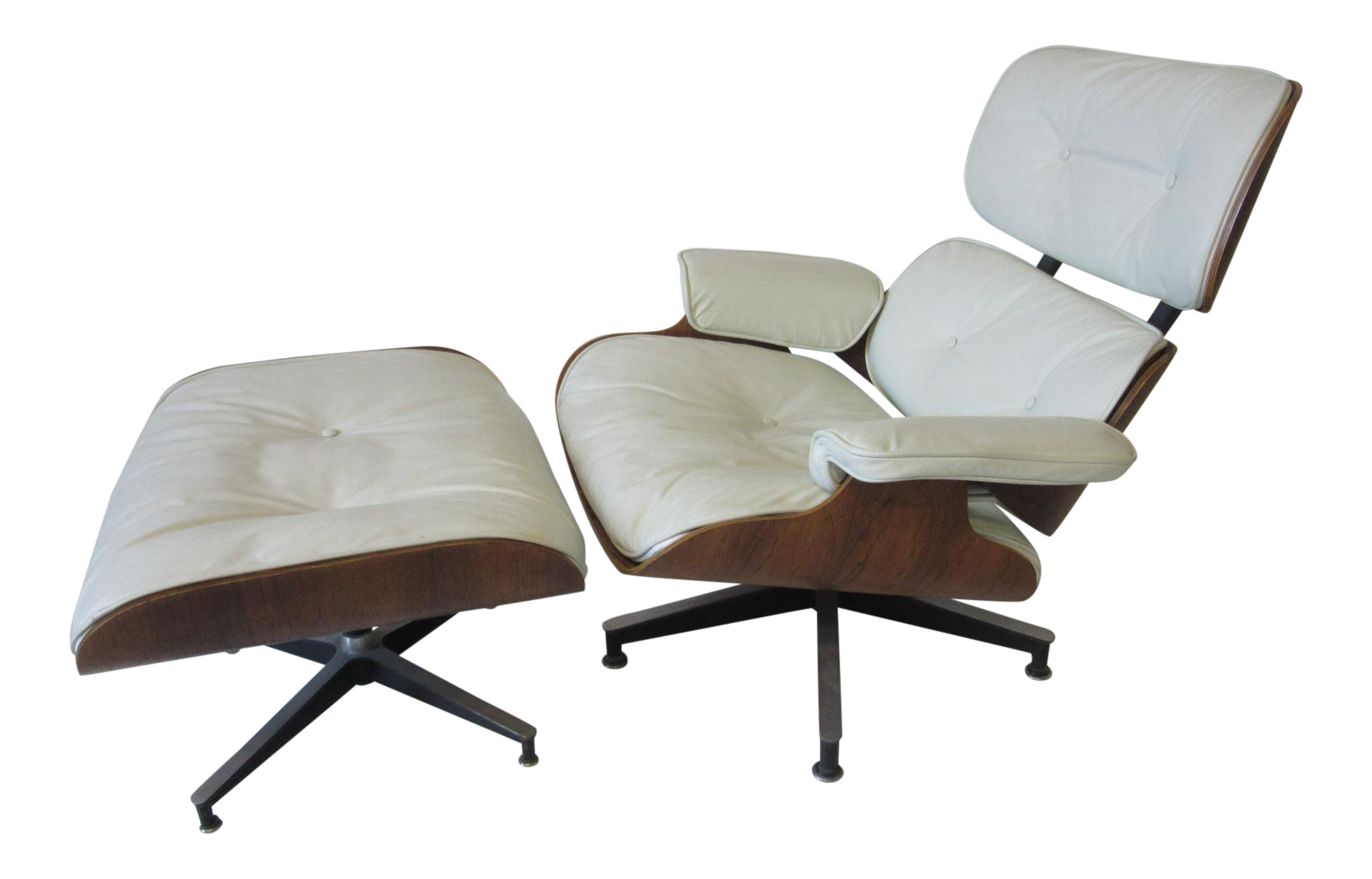 Attirant Eames Rosewood 670 Lounge Chair And Ottoman For Sale