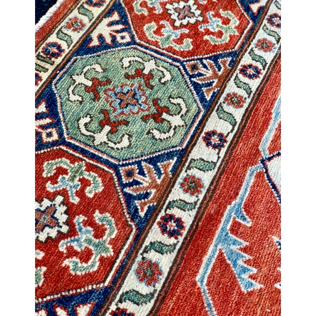Raspberry Red 1990s Serapi Large Area Rug-10′ × 13′9″ For Sale - Image 8 of 13