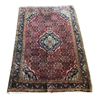 "1970s Vintage Persian Bidjar Rug-3'5'x5'6"" For Sale"
