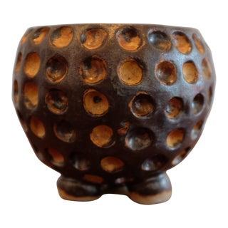 Unique Anthropomorphic Studio Pottery Ceramic Vessel