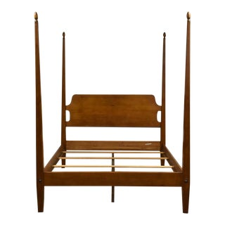 """Ethan Allen """"New Country"""" Solid Maple Queen Bed For Sale"""