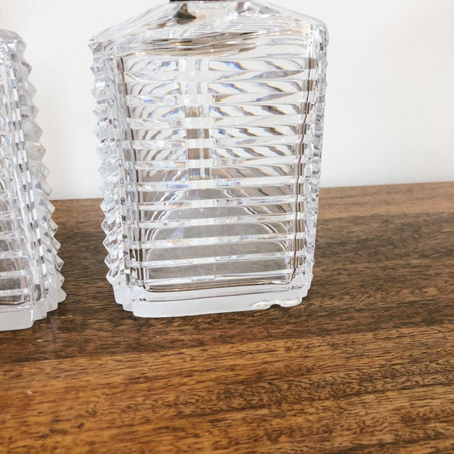 Asprey Crystal Decanters With Sterling Hardware - a Pair For Sale In Austin - Image 6 of 13