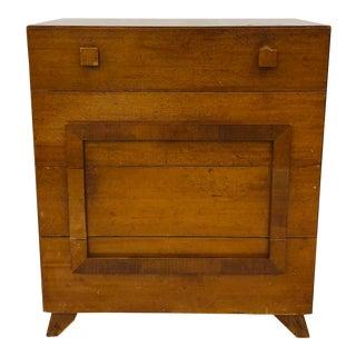 Vintage Mid Century Modern Wooden Dresser Chest by Cavalier For Sale
