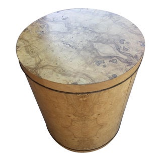 Mid Century Modern Henredon Accent Storage Side Table For Sale