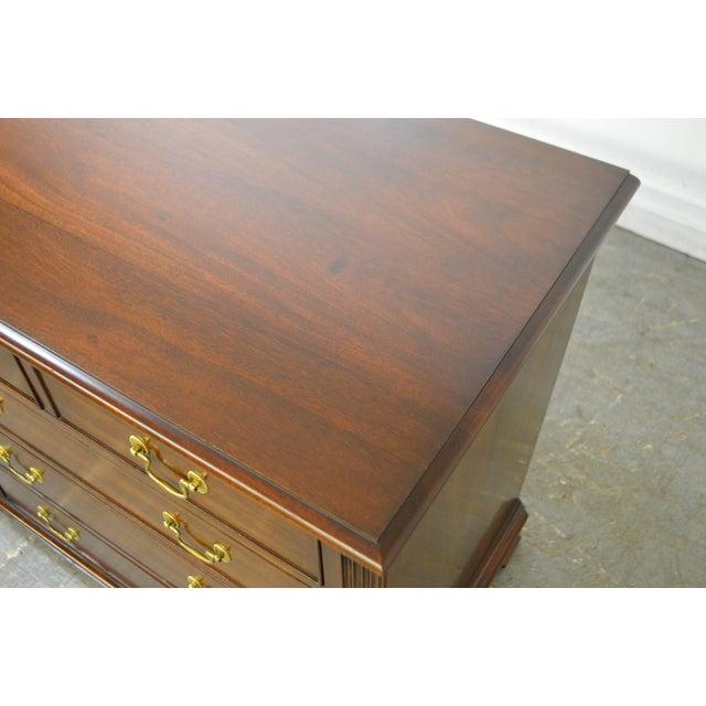 Henkel Harris Mahogany Chippendale Style Dresser - Image 7 of 10