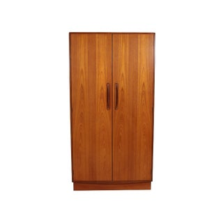 Mid Century G Plan Fresco Teak Wardrobe Armoire 2 of 2 For Sale