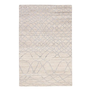 Jaipur Living Manakin Hand-Knotted Trellis Ivory & Silver Area Rug - 2'x3'