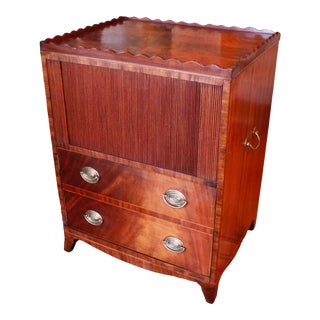 George IV Mahogany Pot Cupboard Cabinet, 19th Century For Sale