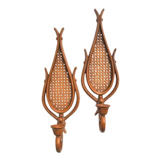 Vintage Mid Century Wall Sconces - A Pair